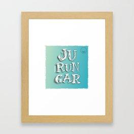 """Jurungar"" Framed Art Print"