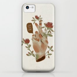 I HOPE THIS WORKS iPhone Case