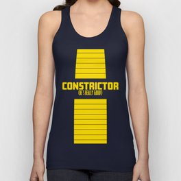 Constrictor (He's Really Good) Unisex Tank Top