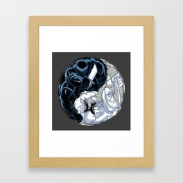 Snake Eyes/Storm Shadow  Framed Art Print