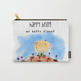 My Happy Planet Carry-All Pouch
