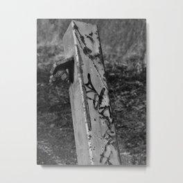 Old post Metal Print