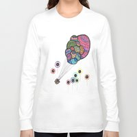 balloons Long Sleeve T-shirts featuring Balloons by Tam Harty