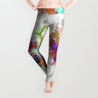 portrait Leggings featuring Awake by Archan Nair