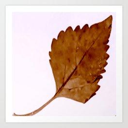Be Like A Leaf #2 Art Print