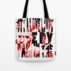 Sinatra Says... Tote Bag