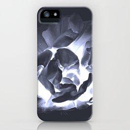 florescent floral iPhone Case
