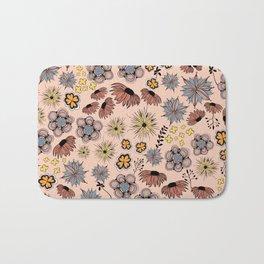flowersketch Bath Mat