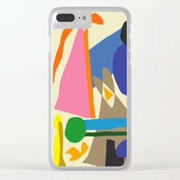 Abstract morning Clear iPhone Case