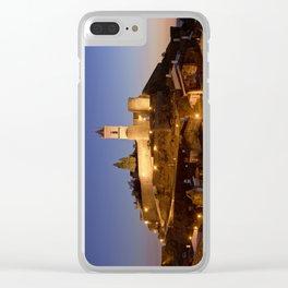 Monsaraz at twilight, Portugal, the Alentejo Clear iPhone Case