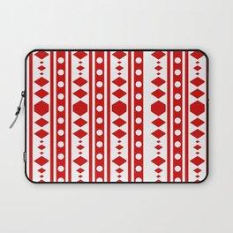 Tribal Red Pattern Laptop Sleeve