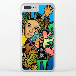 The supplication of sustenance Clear iPhone Case