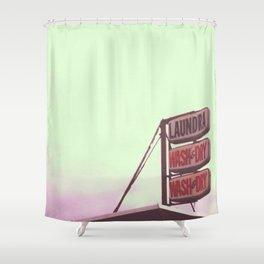 laundra  Shower Curtain