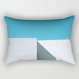 White building Rectangular Pillow