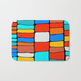 Cargo Ship Containers 8 Bath Mat