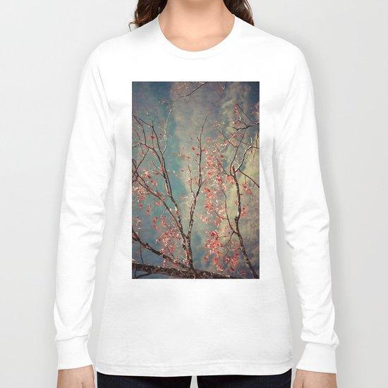 Red Tree Long Sleeve T-shirt