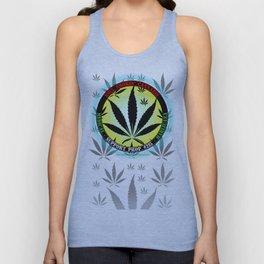 100% Smokin' Cannabis - 3 - Support Prop #215 - 100% Smokin' Cannabis Unisex Tank Top