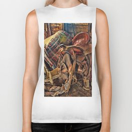 The Old Tack Room Biker Tank