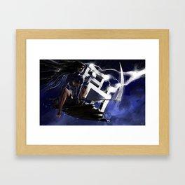 Ride the Lightning Framed Art Print