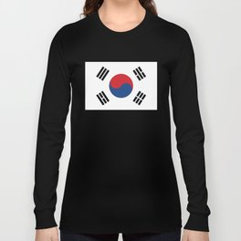 South Korean Flag Long Sleeve T-shirt