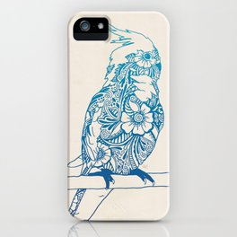Henna Cockatiel iPhone Case
