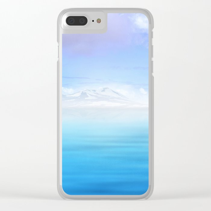 Pastel vibes 44 Clear iPhone Case