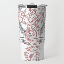 Celtic symbols of eternity or infinity Travel Mug