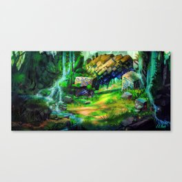 Ancient Passage Canvas Print