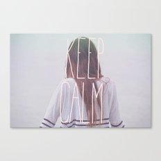 Wander (Keep Calm) Canvas Print