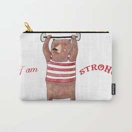 I am strong Carry-All Pouch