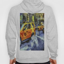 New York Taxis Art Hoody