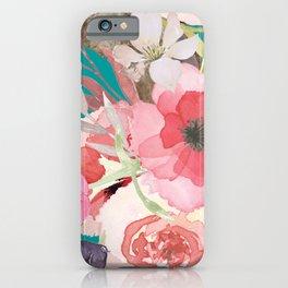 Flowers , floral , shabby chic décor,  flower decor , iPhone Case