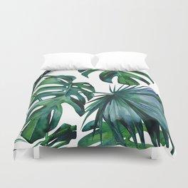 Tropical Palm Leaves Classic II Bettbezug