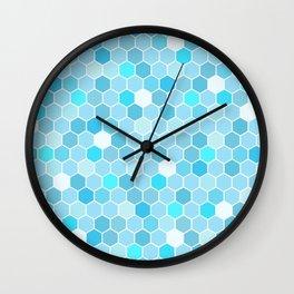 Mermaid Tiles Wall Clock