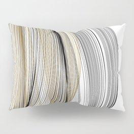 Gold & Black Swirls Pillow Sham