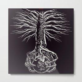 Yggdrasil, Odin's sacred ash tree 2 Metal Print