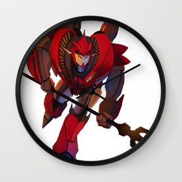 Knock Out Mini Wall Clock
