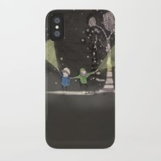 Night time Slim Case iPhone X