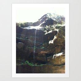 Waterfall - Hoosier National Forest Art Print