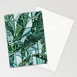 Painted Palms Vacation Mode II Stationery Cards