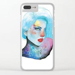 Miss Sagittarius Clear iPhone Case