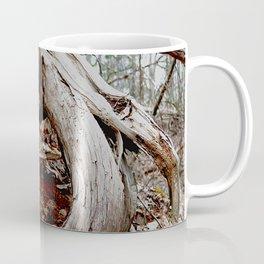 twisted roots, color photo Coffee Mug