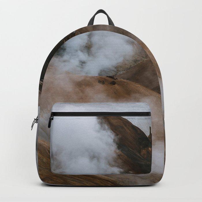 Kerlingjarfjöll smoky Mountains in Iceland - Landscape Photography Backpack