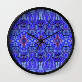 Agnes Cobalt Wall Clock