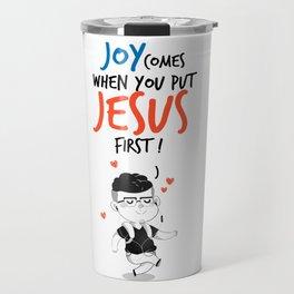 JESUS first Travel Mug