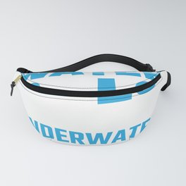 What Happens Underwater Stays Underwater Waterpolo Players Fanny Pack