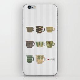 I {❤} Coffee iPhone Skin