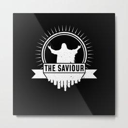Jesus The Savior Metal Print