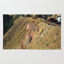 Glacier National Park Road Work Rug