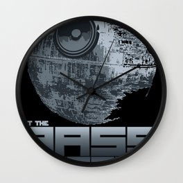 Let The Bass Cannon Kick It! Wall Clock